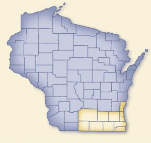 Counties of WISADDS